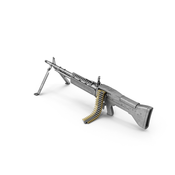 Light Machine Gun PNG & PSD Images