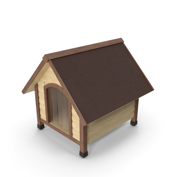 Light Wood Pet House PNG & PSD Images