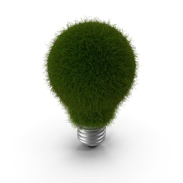 Lightbulb Grassy PNG & PSD Images