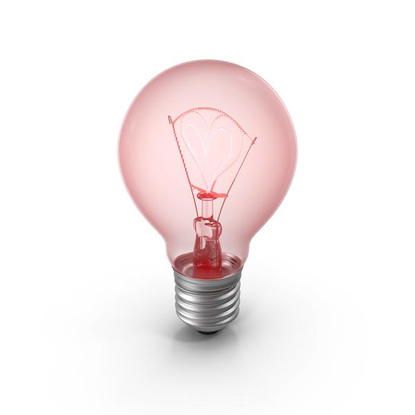 Lightbulb Heart PNG & PSD Images