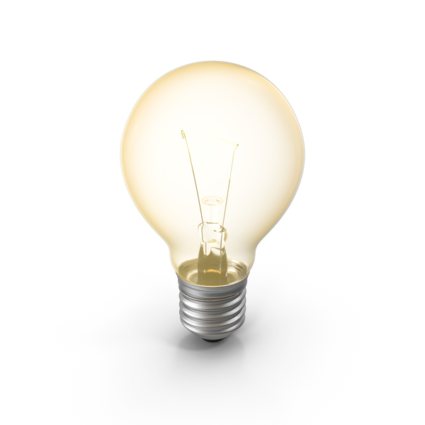 Lightbulb Turned On PNG & PSD Images