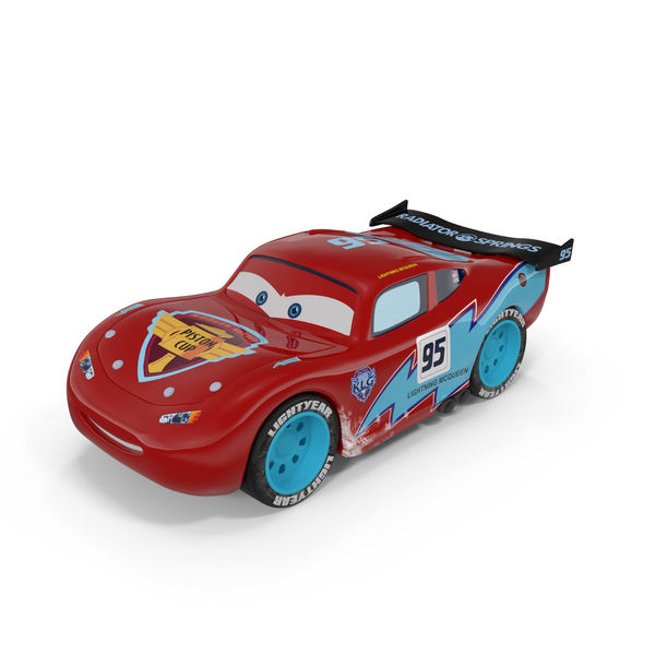 Lightning McQueen Car Toy PNG & PSD Images