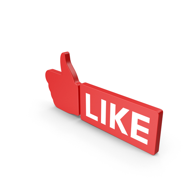 Like Red Web Icon PNG & PSD Images