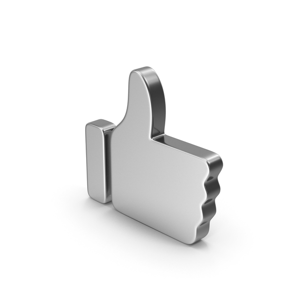 Computer Icon: Like Silver PNG & PSD Images
