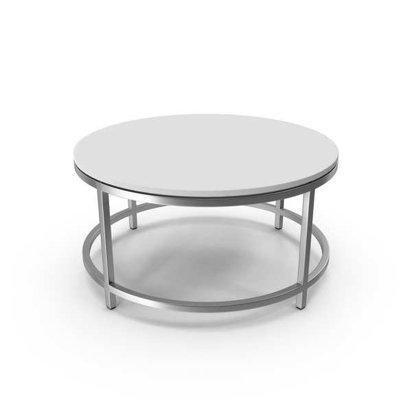 Limestone Round Coffee Table PNG & PSD Images