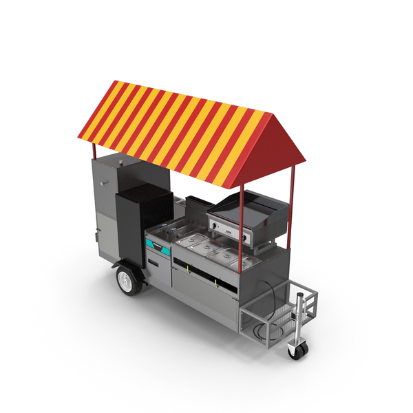 Limo Hot Dog Cart PNG & PSD Images