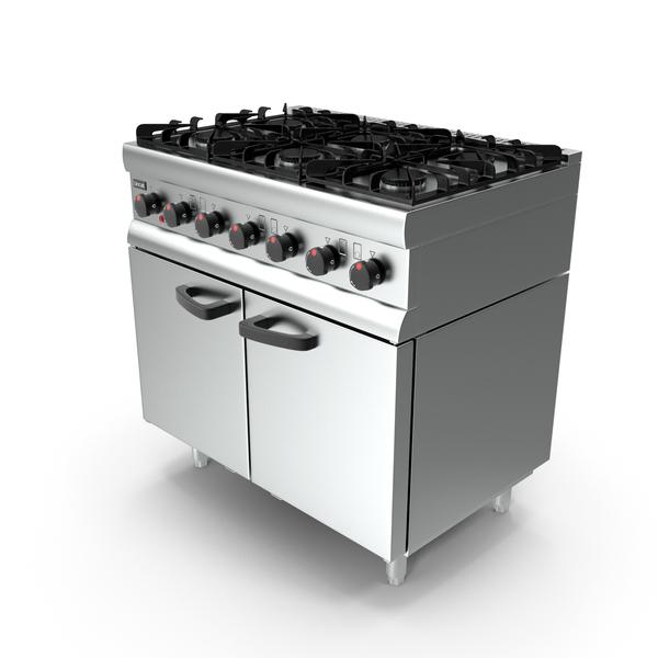 Lincat Silverlink600 Burner Gas Oven SLR9 PNG & PSD Images