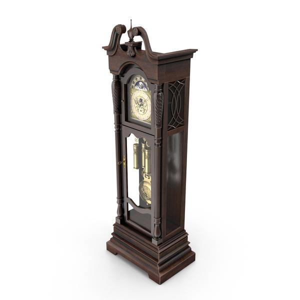 Lindsey Grandfather Clock PNG & PSD Images