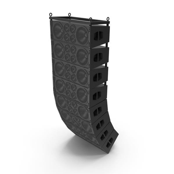 Linear Array Speaker PNG & PSD Images