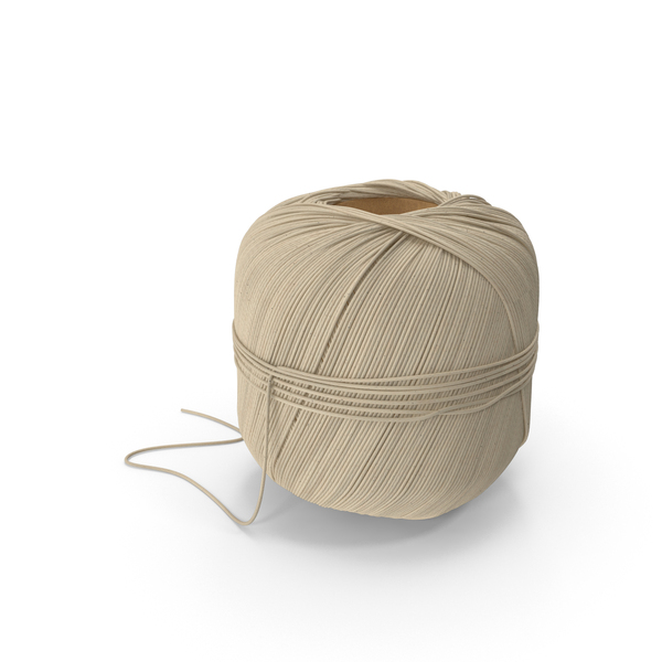 Linen Cooking Twine Spool PNG & PSD Images