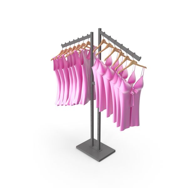 Clothes Stand: Lingerie Rack PNG & PSD Images