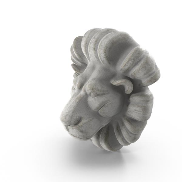 Lion Bust PNG & PSD Images