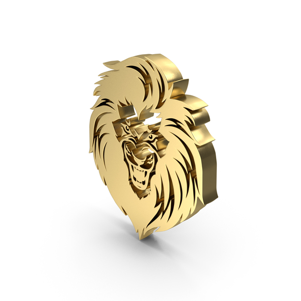 Door Knocker: Lion Face Icon PNG & PSD Images