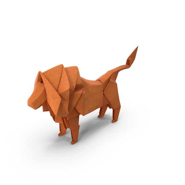 Origami: Lion PNG & PSD Images