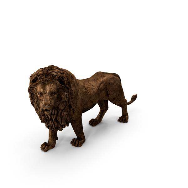 Statue: Lion Sculpture PNG & PSD Images