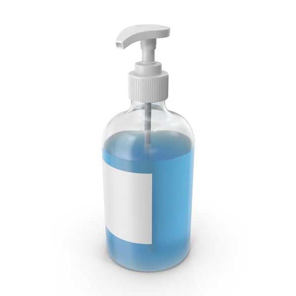 Liquid Soap Bottle PNG & PSD Images