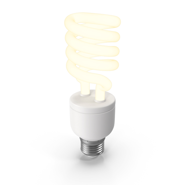 Lit Fluorescent Bulb PNG & PSD Images