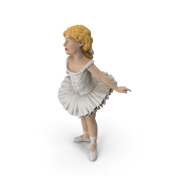Figurine: Little Ballerina PNG & PSD Images