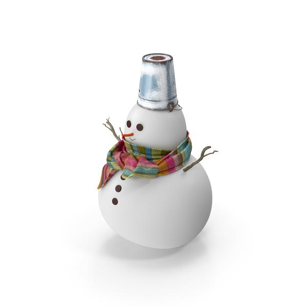 Little Christmas Snowman PNG & PSD Images