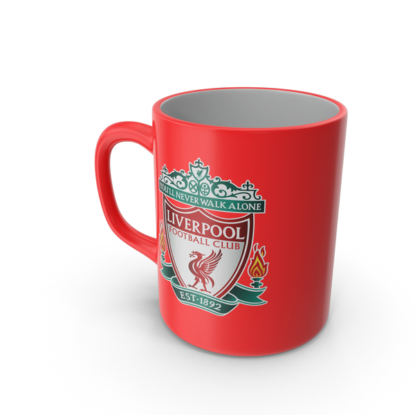 Liverpool FC Mug PNG & PSD Images