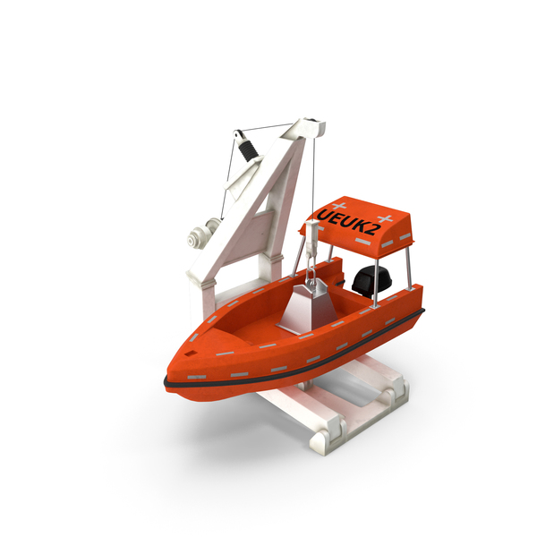 Loader with Powerboat PNG & PSD Images