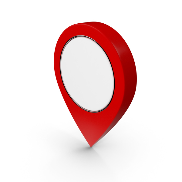 Computer Icon: Location Sign 2 PNG & PSD Images