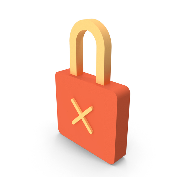 Padlock: Lock Cross Icon PNG & PSD Images
