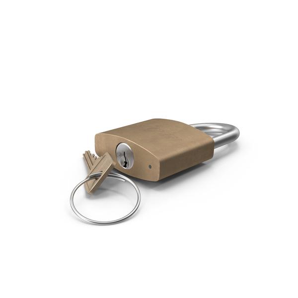 Padlock: Lock With Key PNG & PSD Images