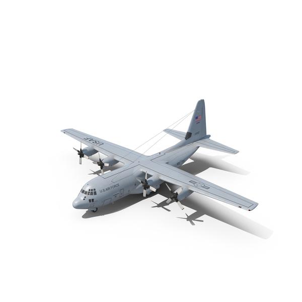 Lockheed C-130 Hercules PNG & PSD Images