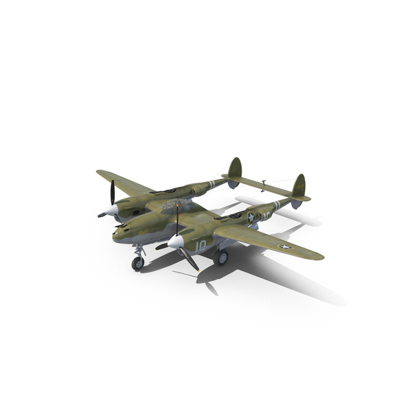 Lockheed P-38 Lightning PNG & PSD Images