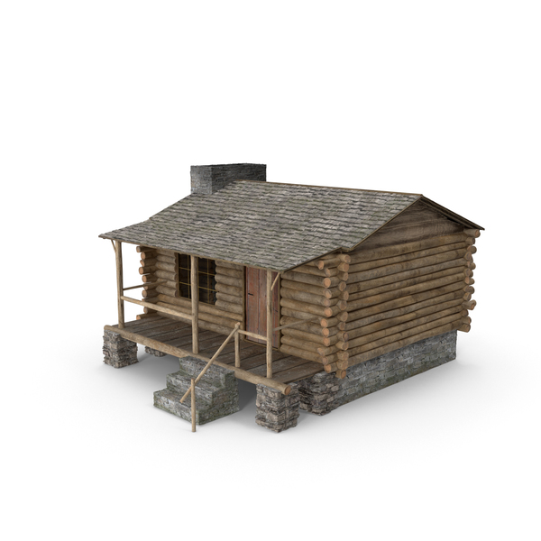 Log Cabin Object