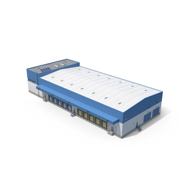 Warehouse: Logistics Building PNG & PSD Images