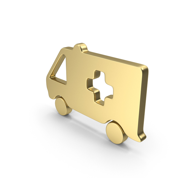 Caduceus: Logo Ambulance Gold PNG & PSD Images