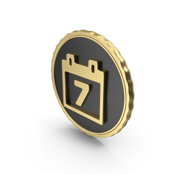 Logo Clock Calendar Date Gold PNG & PSD Images