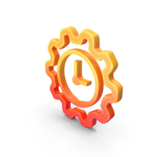 Logo Clock Work Time PNG & PSD Images