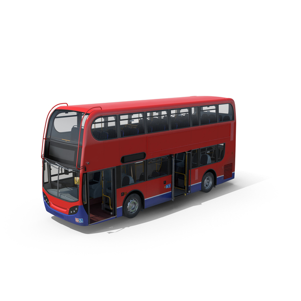 London Bus Enviro400 PNG & PSD Images