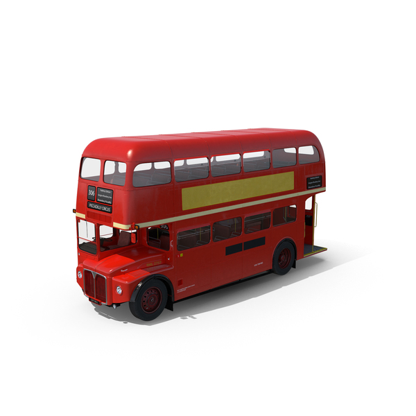 London Bus Routemaster PNG & PSD Images