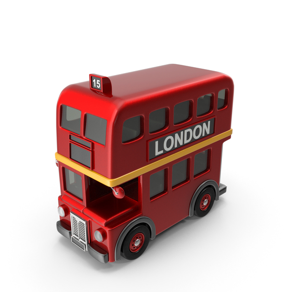 Toy Car: London Bus PNG & PSD Images