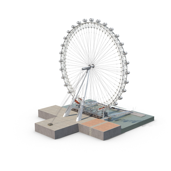 Ferris Wheel: London Eye PNG & PSD Images