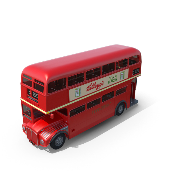 London Routemaster Bus PNG & PSD Images