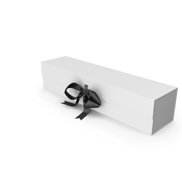 Gift Bow: Long Box with Ribbon PNG & PSD Images