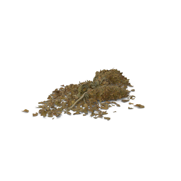 Loose Pile of Marijuana Object