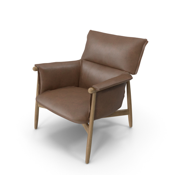 Lounge Chair Light Brown PNG & PSD Images