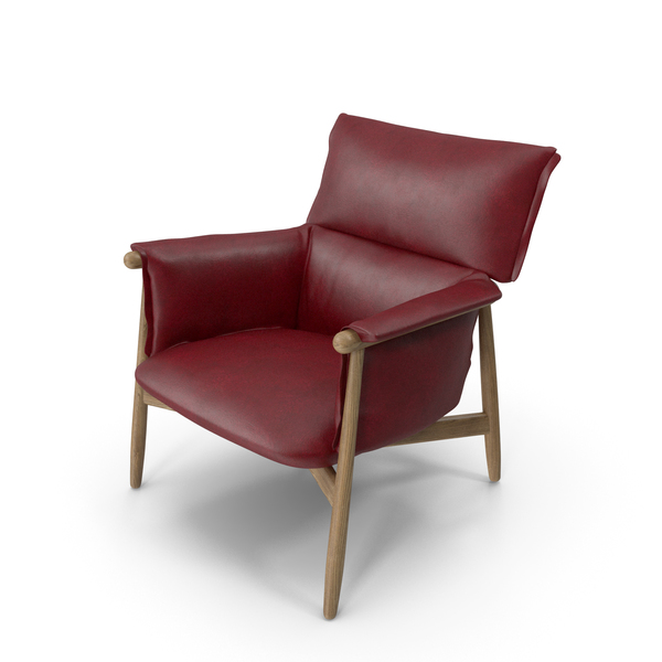 Lounge Chair Red PNG & PSD Images