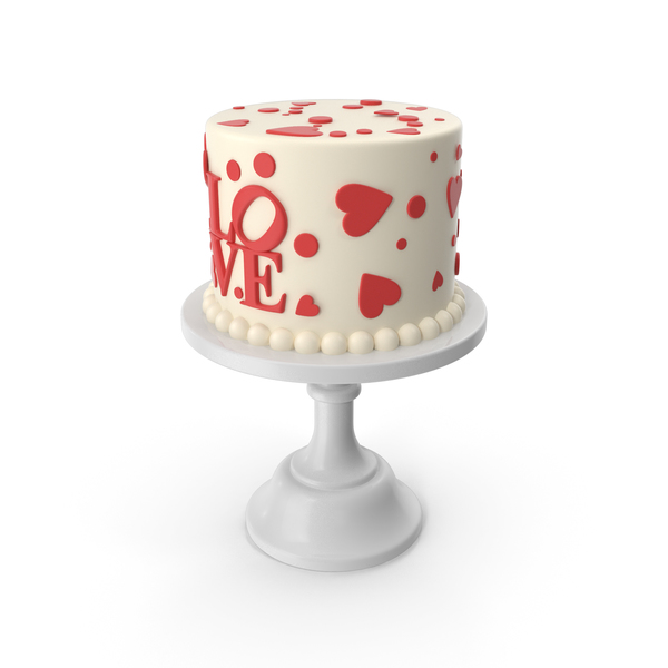 Love Cake PNG & PSD Images