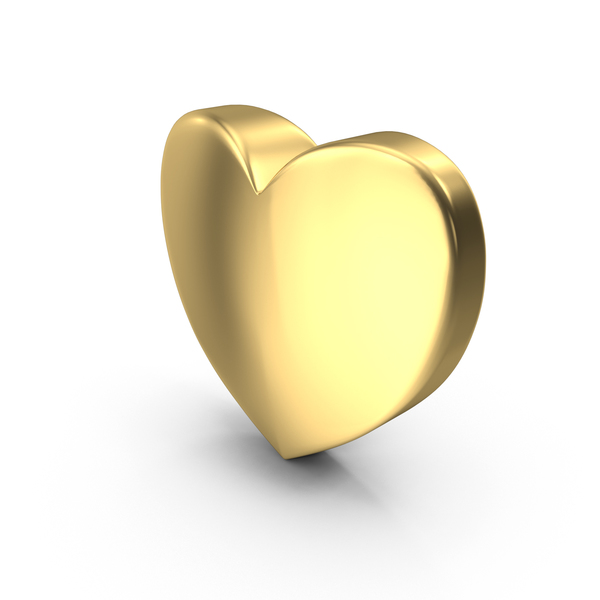 Love Gold PNG & PSD Images