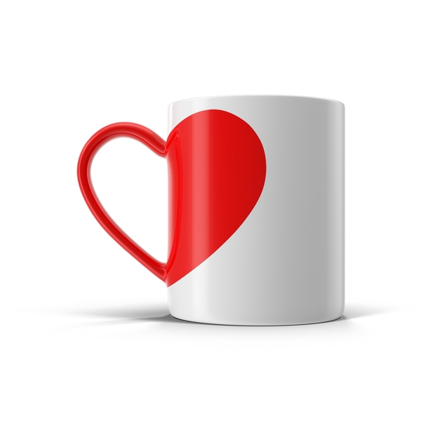 Love Tea Cup Object