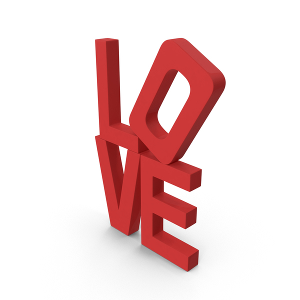 Love Word PNG & PSD Images