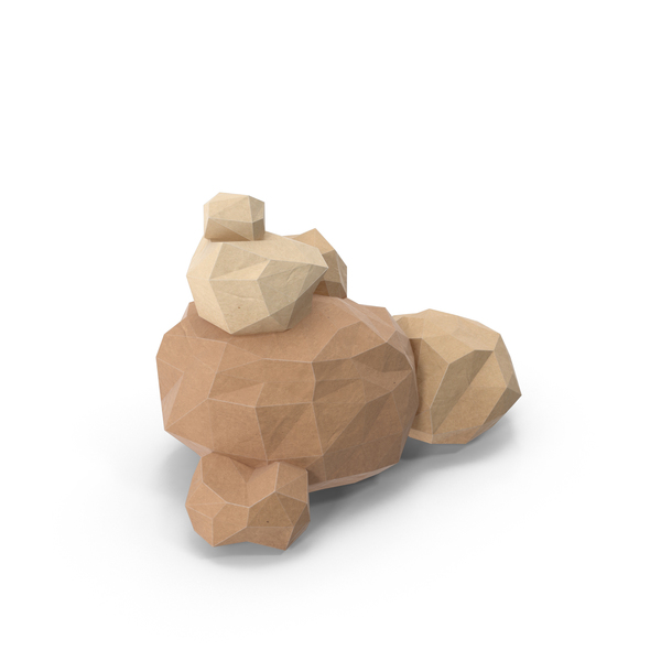 Boulder: Low Poly Boulders PNG & PSD Images