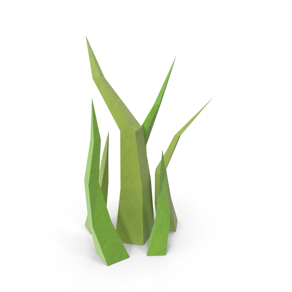 Grasses: Low Poly Grass PNG & PSD Images